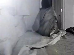 My horny mamma caught by hidden cam in her bedroom