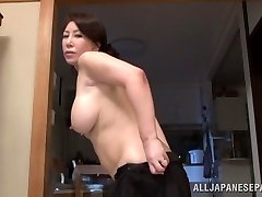Wako Anto hot mature Japanese babe in position 69