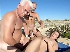 Wife hot bang-out at the beach