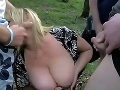 Hottest amateur Gangbang, Mature sex scene