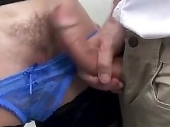 Mom and Stepson Sperm on Pussy. Jizz in Panties, Moist Panty, Wet Pussy