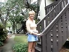 Large blonde mom and a smallish black stud