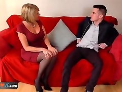 AgedLove Nice blond granny is plowed by horny man