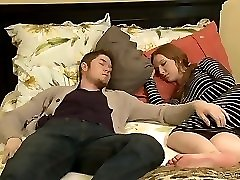 Crazy mature Erica Lauren plows a hot guy next to his sleeping Girlfriend