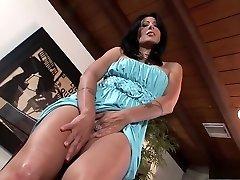 Unbelievable pornstar Zoey Holloway in horny solo, masturbation porn movie