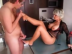 Concupiscent Homemade movie with Older, Fetish scenes
