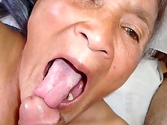 Old latina amateur granny  with huge boobs and big booty