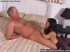 Midget Smashed By Mature