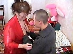 Russian Mom And Guy 085