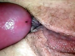 Tonguing playing fucking the wifes pussy and butt.