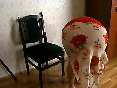 Insane russian granny's fuck-a-thon with a guy