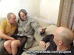Granny Enjoys It Anal