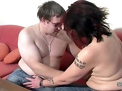 German Mommy Helps Her Gross Step-Son