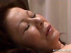 Chizuru Iwasaki hot mature Asian dame is screwed hard