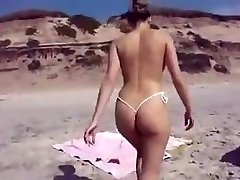 stellar ass on the beach