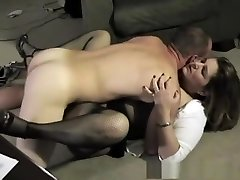 Hottest superstar in awesome mature, creampie sex movie