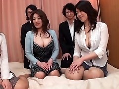 Asian AV Models are into a super-fucking-hot and insatiable face-sitting and more