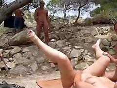 Beach sex voyeur and have fun