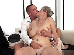 Nice first-timer sex in public