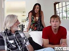 LoveHerFeet - Stepmom Wants My Spunk On Her Feet