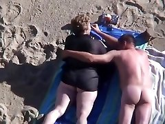 Beach mature plus-size