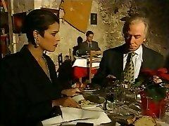 Fashionable Italian Mature cheating spouse on restaurant