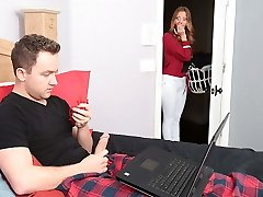 Panty sniffing stepson plows his mommy