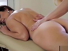 Hot milf mommy seduce daughter - sex massage Part 1