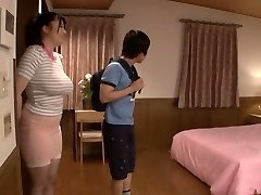 Exotic Japanese model in Horny Nipples, Threesome JAV flick
