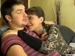 Young fuck Mature dark-haired