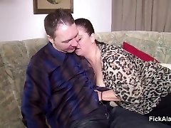 Mother Seduce Step-Stepson to Fuck her