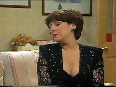 Lynda Bellingham Handsome Black Dress
