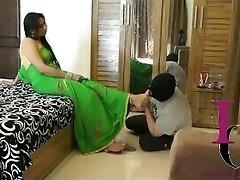 Indian Mistress Foot Victim