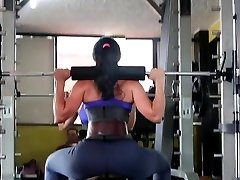 Fitness hot BUTT hot CAMELTOE 90