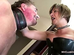 Mature Femdom Luvs Slapping Her Slave