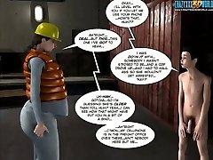 3 DIMENSIONAL Comic: The Chaperone. Scene 27