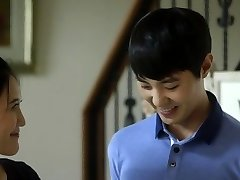Young man and mature in korean movie sex vignette