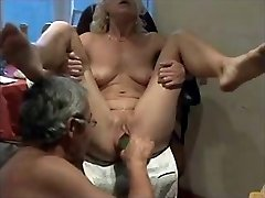 Inserted Objects in snatch for mature by hubby