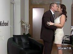 Enormous tits lush bride banging