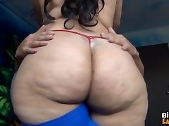 LATINA RAVAGES LIDDLE FUCKPOLE PART 2