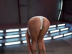 Sexy Milf Acquires Drilled by Machines
