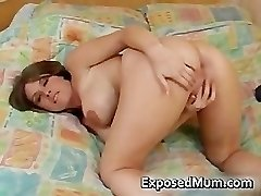 Huge tits ultra-cutie fingering her part2