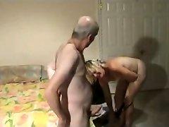 Mature couple homemade pound
