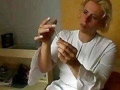 Blondie Elderly Nurse