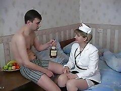 Valentina in stunning milky stockings