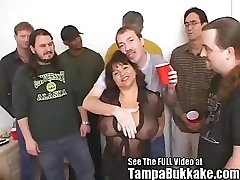 Susie's Gang Bang Mass Ejaculation Soiree for Tampa Mass Ejaculation