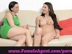 FemaleAgent. Virgin lezzy