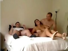 Dilettante - Nice Mature Homemade MALE+MALE+FEMALE Threesome