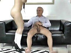 18 years old slut anal strap-on