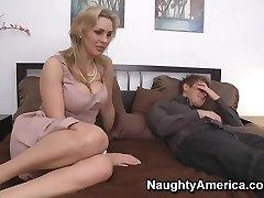 Tanya Tate & Danny Wylde in My Friends Hot Mummy